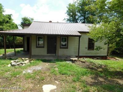 Single Family Home For Sale: 3786 Mackville Rd