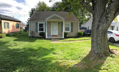 Shelbyville KY Single Family Home For Sale: $75,000