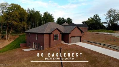 Taylorsville Single Family Home For Sale: Lot 54 Eaglesnest