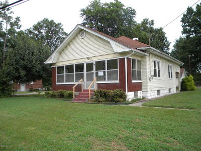 Louisville KY Single Family Home For Sale: $37,000
