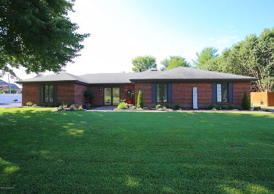 Jeffersonville Single Family Home For Sale: 1800 Augusta Dr