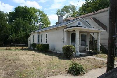 Single Family Home For Sale: 1135 Reutlinger Ave