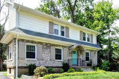 Louisville Single Family Home For Sale: 3220 Lexington Rd