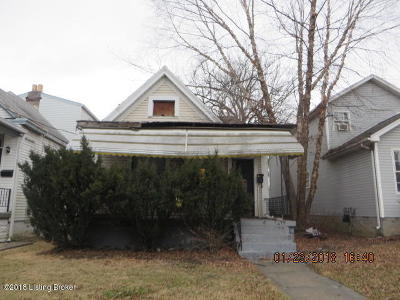 Louisville Single Family Home For Sale: 2819 W Chestnut St