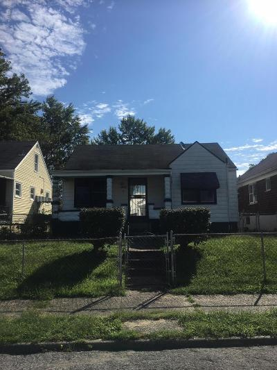Louisville Single Family Home For Sale: 307 N 33rd St
