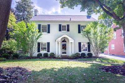 Louisville Single Family Home For Sale: 3020 Lexington Rd