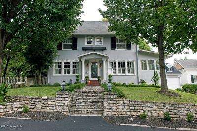 Louisville Single Family Home For Sale: 1755 Cherokee Terrace