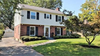 Louisville Single Family Home For Sale: 312 Chenoweth Ln