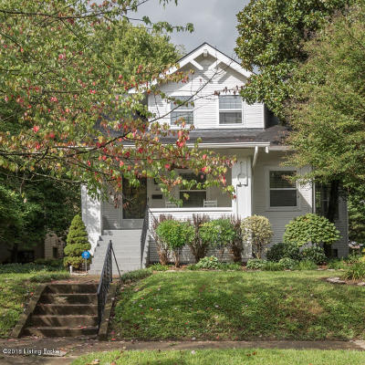 Crescent Hill Single Family Home For Sale: 212 Hillcrest Ave