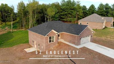 Taylorsville Single Family Home For Sale: Lot 55 Eaglesnest