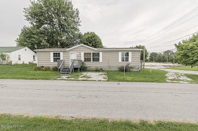Hardinsburg KY Single Family Home For Sale: $75,000