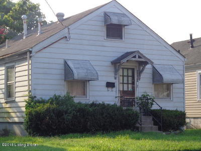 Louisville Single Family Home For Sale: 3669 Powell Ave