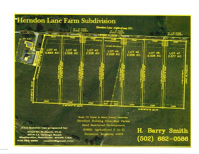Shelby County Residential Lots & Land For Sale: 10 Lovers Ln