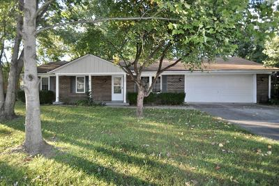 Jeffersonville Single Family Home For Sale: 3307 Castlewood Ln
