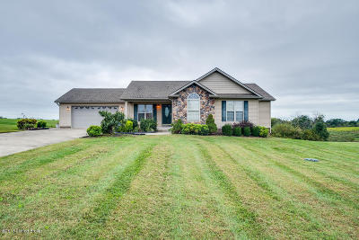Taylorsville Single Family Home For Sale: 593 Shawnee Run