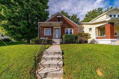Louisville KY Single Family Home For Sale: $190,000
