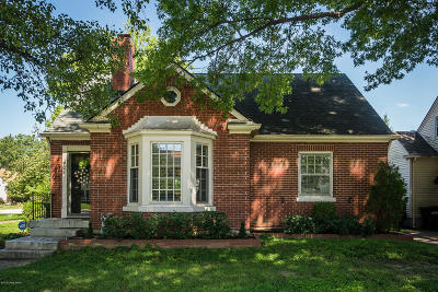 Louisville KY Single Family Home For Sale: $325,000