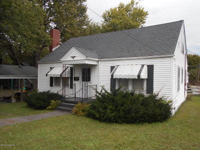 Leitchfield, Caneyville, Clarkson, Big Clifty Single Family Home For Sale: 113 Mulberry St