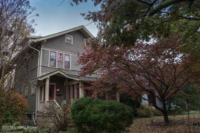 Louisville Single Family Home For Sale: 113 Hillcrest Ave