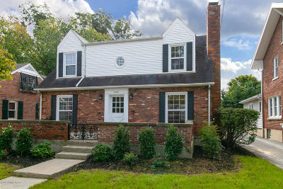 Louisville Single Family Home For Sale: 2408 Taylorsville Rd