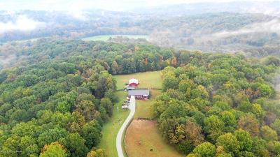 Shelby County Farm For Sale: 4842 Cedarmore Rd