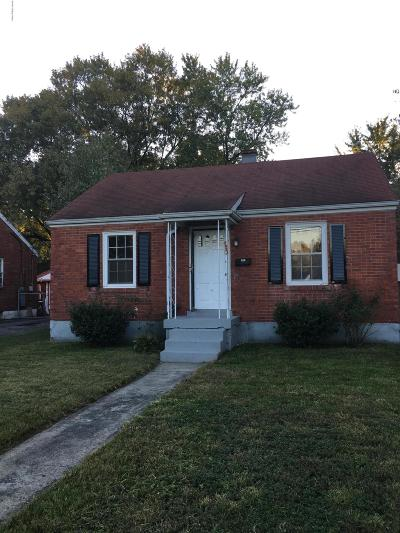 Louisville Single Family Home For Sale: 1021 W Indian Trail