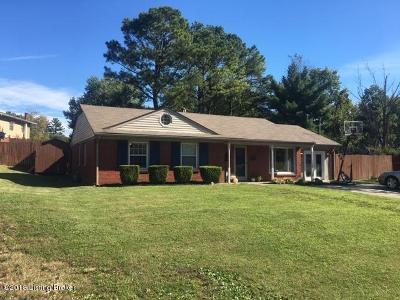 Single Family Home For Sale: 2505 Rhett Ct