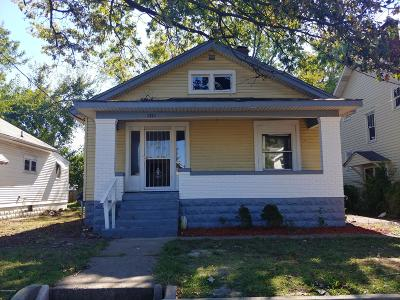 Louisville Single Family Home For Sale: 1214 Dresden Ave
