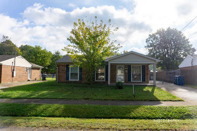 Louisville KY Single Family Home For Sale: $139,900