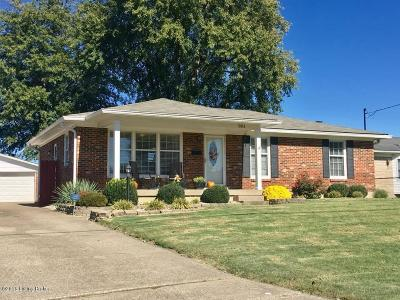 Louisville KY Single Family Home For Sale: $177,000