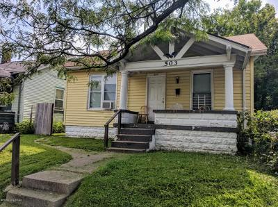 Louisville KY Single Family Home For Sale: $50,000