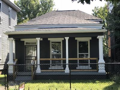 Louisville KY Single Family Home For Sale: $46,500