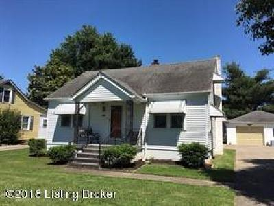 Bardstown Single Family Home For Sale: 239 Demaree Dr