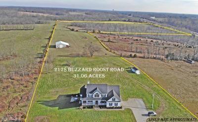 Waddy Farm For Sale: 2178 Buzzard Roost Rd