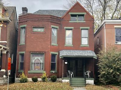 Old Louisville Single Family Home For Sale: 527 W Hill St
