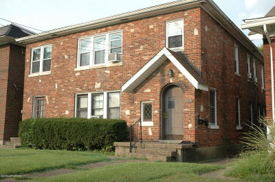 Louisville Multi Family Home For Sale: 2235 1/2 S Shelby