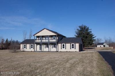 Hardin County Single Family Home For Sale: 345 Deckard School Rd