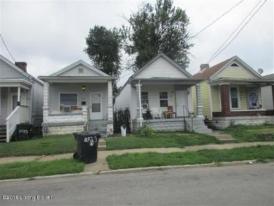 Louisville KY Single Family Home For Sale: $19,900