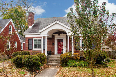 Louisville KY Single Family Home For Sale: $349,000
