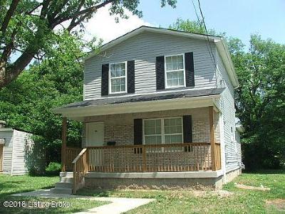 Louisville KY Single Family Home For Sale: $90,000