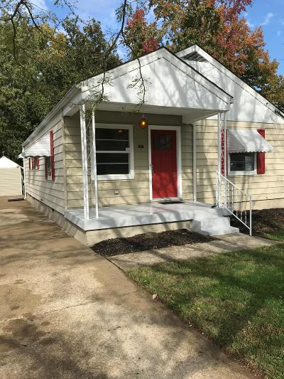 Louisville KY Single Family Home For Sale: $124,900