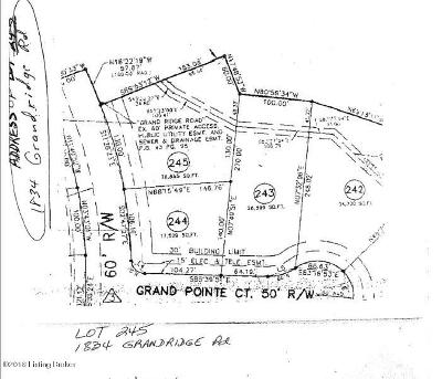 Louisville Residential Lots & Land For Sale: 1834 Grand Ridge Rd