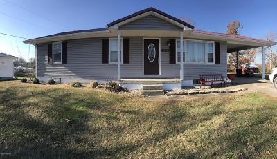 Leitchfield KY Single Family Home For Sale: $78,900