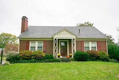 Single Family Home For Sale: 213 Fairmeade Rd