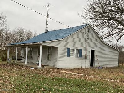 Leitchfield KY Single Family Home For Sale: $49,900