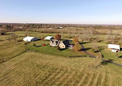 Shelbyville Farm For Sale: 700 Harrington Mill Rd