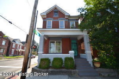 Old Louisville Single Family Home For Sale: 1101 S 1st St