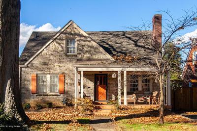 Audubon Park Single Family Home For Sale: 1019 Greenleaf Rd