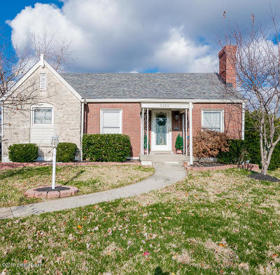 Louisville Single Family Home For Sale: 2203 Wendell Ave