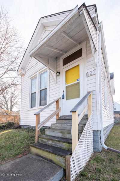 Louisville Single Family Home For Sale: 827 Swan St